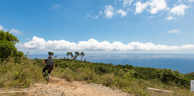 Finale Ligure mountain biking